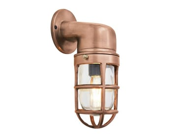 Brass wall lamp BULKHEAD SCONCE   Brass wall lamp