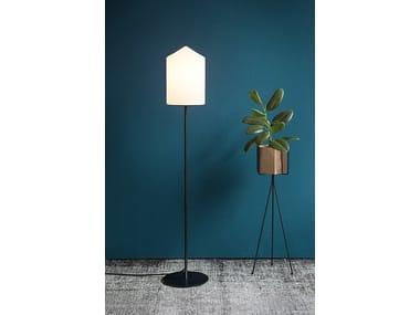 Lampada da terra a luce diretta in metallo in stile moderno BULLET | Lampada da terra