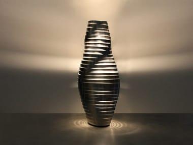 Lampada da terra a LED in acciaio inox BUMBLEBEE | Lampada da terra