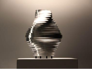 Lampada da tavolo a LED in acciaio inox BUMBLEBEE   Lampada da tavolo