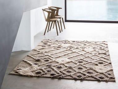Handmade wool rug BUR-BUR