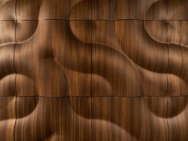 Modular wooden 3D Wall Panel BURAN