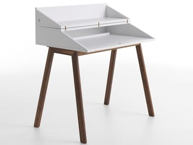 Wooden secretary desk BUREAU