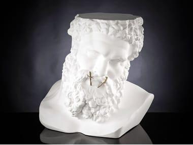 Ceramic coffee table / sculpture BUSTO ERCOLE - NON PARLO