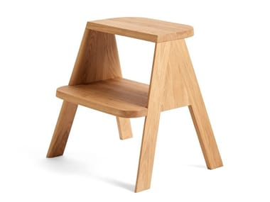 Oak stool / step stools BUTLER