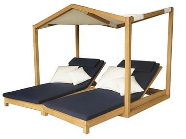 Canopy wooden garden bed BUTTERFLY