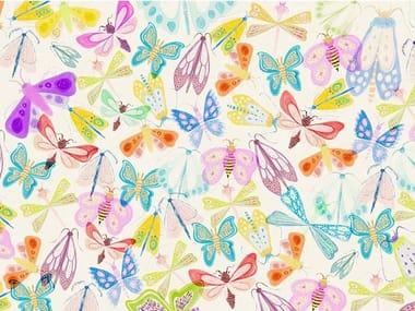 Papel de parede ecológico de tecido não tecido BUTTERFLY