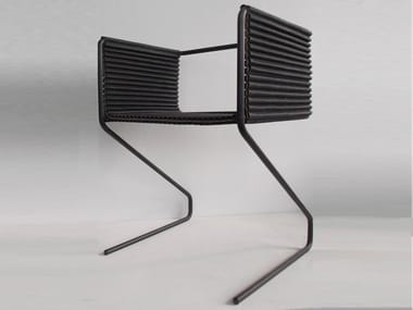 Cantilever easy chair BUXKIN CHAIR