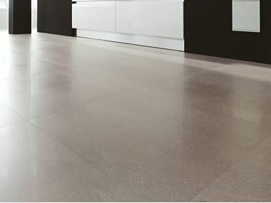 Pavimento/rivestimento in gres porcellanato effetto pietra BUXY - PERLE