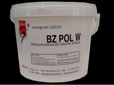 Additive and resin for waterproofing BZ POL W