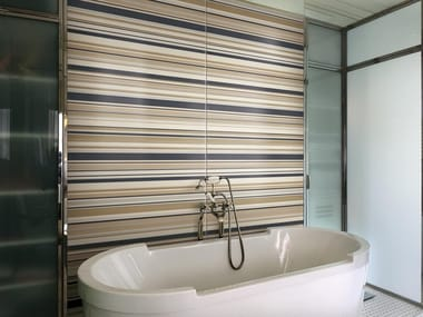 Indoor double-fired ceramic wall tiles BAIADERA