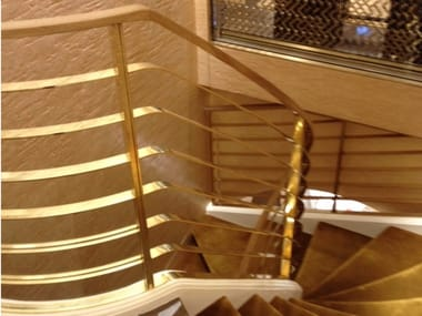 Brass Stair railing Balustrade