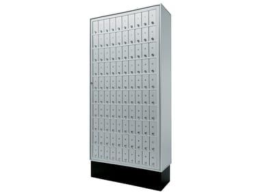 Metal mailbox for banks Bank range