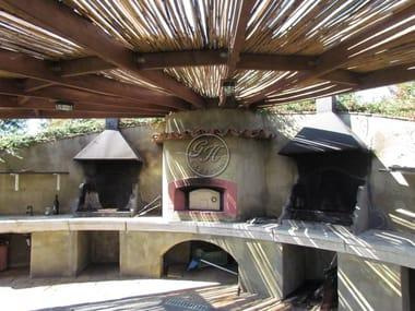 Barbecue in travertino Barbecue 11