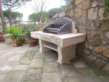 Barbecue in travertino Barbecue 3