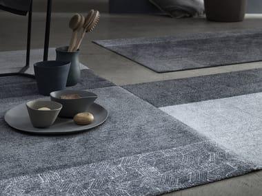 Rectangular chenille bath mat Bath mat