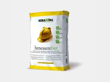 Biointonaco termo-deumidificante BENESSEREBIO® | Intonaco naturale e per la bioedilizia