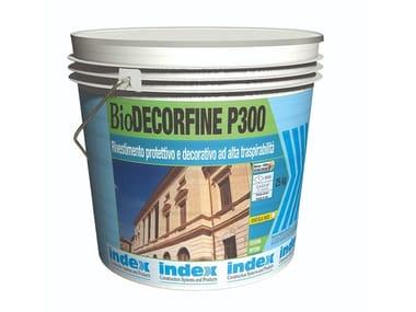 Rivestimento protettivo e decorativo ad alta traspirabilità BioDECORFINE P300