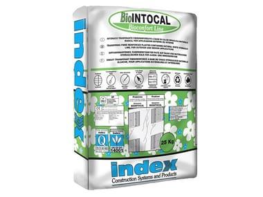 Intonaco traspirante a base di calce idraulica naturale BioINTOCAL
