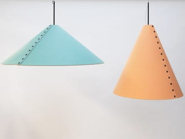 Acoustic office Recycled PET pendant lamp BuzziCone