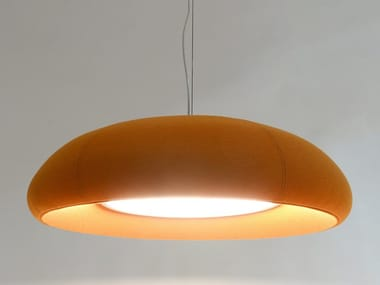 LED fabric pendant lamp BuzziDome