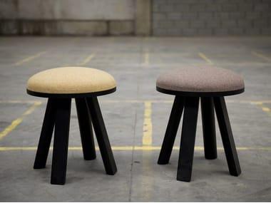 Upholstered stool BuzziMilk