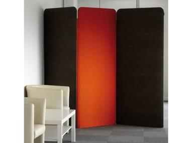 Painel divisor fono-absorvente modular BuzziScreen