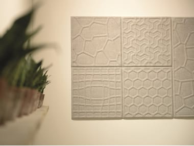 Sound absorbing wall tiles BuzziTile 3D
