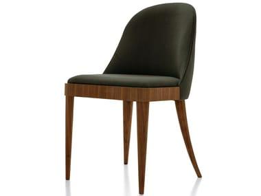 Sedia imbottita in legno C-144 | Sedia