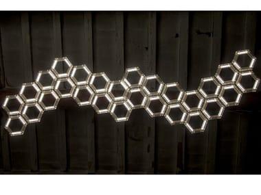 Lampada a sospensione a LED in PMMA C13