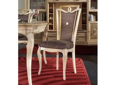 Upholstered fabric chair CA' FOSCARI | Fabric chair