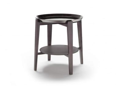 Mesa de centro redonda com tabuleiro CABARÈ