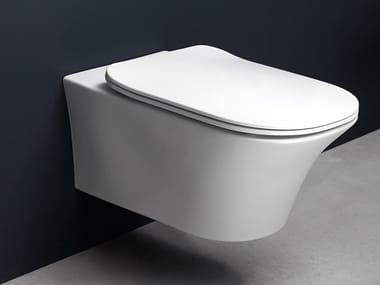 Wc sospeso in ceramica CABO | Wc sospeso