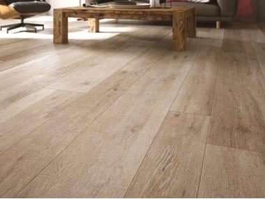 Pavimento/rivestimento in gres porcellanato effetto legno CADORE - BAITA