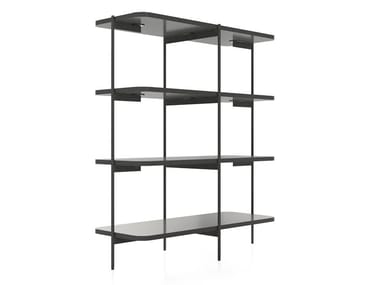 Open freestanding bookcase CAILLOU | Bookcase