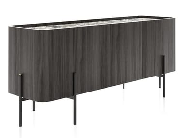 MDF sideboard with doors CAILLOU | MDF sideboard