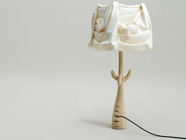 Wooden table lamp CAJONES | Table lamp