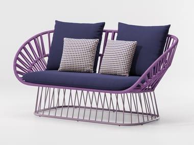 2 seater garden sofa CALA | 2 seater garden sofa