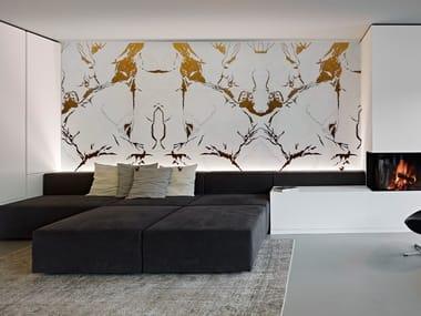 Indoor Kerlite® wall tiles CALACATTA GOLD