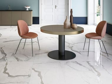 Wall/floor tiles with marble effect CALACATTA STATUARIO