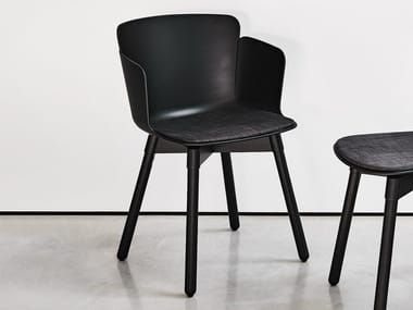 Polypropylene chair with armrests CALLA PL C PP
