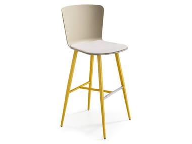 High polypropylene stool CALLA S75 M PP