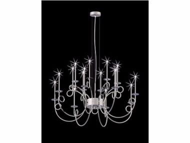 Lampada a sospensione a LED in acciaio CALLIGRAFICO NITY 16C LED | Lampada a sospensione a LED