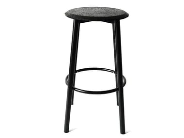 High stool with footrest CALM | Stool