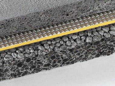 Sistema di isolamento al calpestio in polietilene espanso CALPESTOP