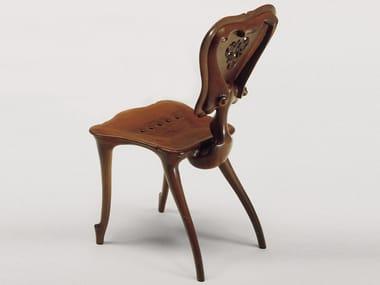 Cadeira de madeira maciça CALVET | Cadeira