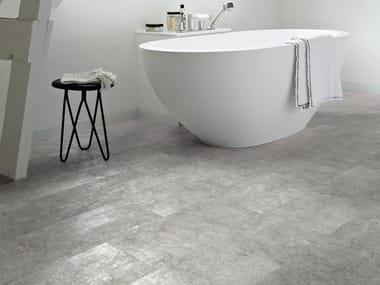 Pavimenti in vinile effetto pietra archiproducts - Pavimenti in cemento per interni pro e contro ...