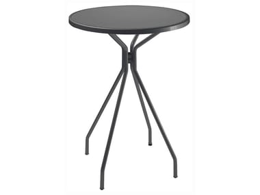 Round steel high table CAMBI | High table