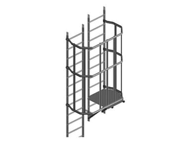 Modulo per scala in alluminio CAMBIO DIREZIONE PER SCALA