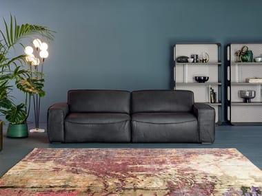 3 seater leather sofa CAMBRIDGE